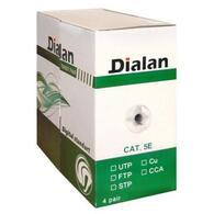 Кабель сетевой DiAlan FTP 305м КНПЭ 4*2*0,50 [CU] ПВХ+ПЭ, Black 10563