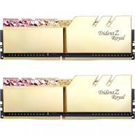 Модуль памяти для компьютера DDR4 16GB 2x8GB 3200 MHz Trident Z Royal RGB Gold G.Skill F4-3200C16D-16GTRG