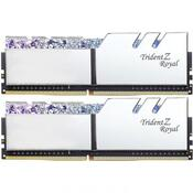 Модуль памяти для компьютера DDR4 16GB 2x8GB 3600 MHz Trident Z RGB Royal Silver G.Skill F4-3600C18D-16GTRS