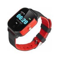Смарт-часы GoGPS К23 Black/red Детские телефон-часы с GPS треккером K23BKRD