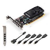 Видеокарта PNY QUADRO P1000 V2 4GB VCQP1000V2-PB