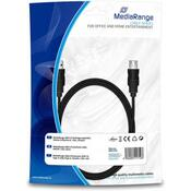 Дата кабель USB 2.0 AM/AF 1.8m MediaRange MRCS154