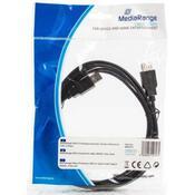 Дата кабель USB 2.0 AM/AF 3.0m MediaRange MRCS111