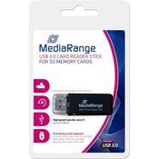 Считыватель флеш-карт MediaRange USB 3.0 black MRCS507