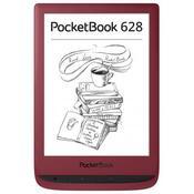 Электронная книга PocketBook 628 Touch Lux5 Ruby Red PB628-R-CIS