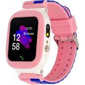 Смарт-часы Discovery iQ4700 Camera LED Light Pink Детские смарт часы-телефон трек iQ4700 Pink