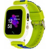 Смарт-часы ATRIX iQ2200 IPS Cam Flash Green Детские телефон-часы с трекером iQ2200 Green