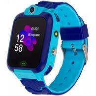 Смарт-часы ATRIX iQ2400 IPS Cam Flash Blue Детские телефон-часы с трекером iQ2400 Blue