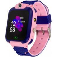 Смарт-часы ATRIX iQ2400 IPS Cam Flash Pink Детские телефон-часы с трекером iQ2400 Pink