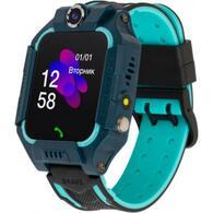 Смарт-часы ATRIX iQ2500 IPS Cam Flash Blue Детские телефон-часы с трекером iQ2500 Blue
