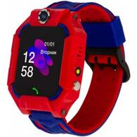 Смарт-часы ATRIX iQ2500 IPS Cam Flash Red Детские телефон-часы с трекером iQ2500 Red
