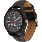 Смарт-часы ATRIX INFINITYS X20 45mm Swiss Sport Chrono Black-leather Смарт-ча swwpaii2sscbl