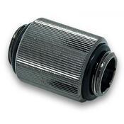 Фитинг для СВО EKWB EK-AF Extender 20mm M-M G1/4 - Black Nickel 3831109846346