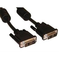 Кабель DVI to DVI 24pin, 3.0m Atcom (9148) DVI to DVI, 3 м, с 2-мя феритами