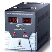 Стабилизатор GEMIX GDX-5000 5000 VA, 3500 Вт, 140~260V AC 50/60Hz, 220 ± 7%, клемное подключение, релейный, однофазный, 265x220x370