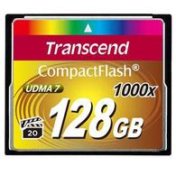 Флеш карта Transcend 128Gb Compact Flash 1000x (TS128GCF1000) 128 Gb, Compact Flash
