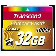 Карта памяти Transcend 32Gb Compact Flash 1000x TS32GCF1000