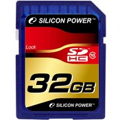 Карта памяти 32Gb SDHC class 10 Silicon Power SP032GBSDH010V10