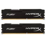 Модуль памяти 16Gb DDR3 1600M Hz HyperX Fury Black 2x8GB Kingston HX316C10FBK2/16