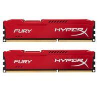 Модуль памяти DDR3 16Gb 2x8GB 1600 MHz HyperX Fury Red Kingston HX316C10FRK2/16