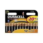 Батарейка Duracell AA MN1500 LR06 * 12 81367213